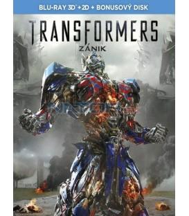 Transformers 4: Zánik (Transformers: Age of Extinction) - Blu-ray 3D + 2D+bonus BD