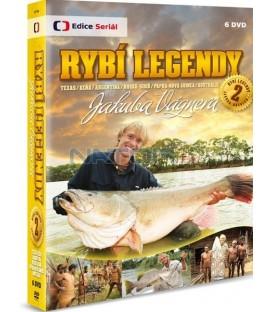 Rybí legendy Jakuba Vágnera 2- 6 X DVD