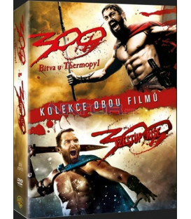 300: Bitva u Thermopyl + 300: Vzestup říše (300 + 300: Rise of an Empire) (kolekce 2 DVD) DVD