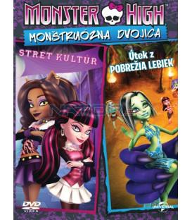 Monster High:Monštruózna dvojica (Monster High: Clawesome Double) DVD