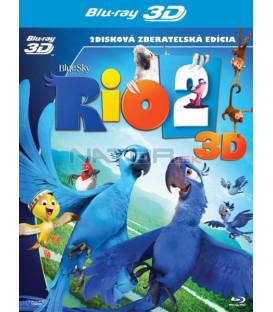 RIO 2 - Blu-ray 3D + 2D limitovaná edice s plyšákem