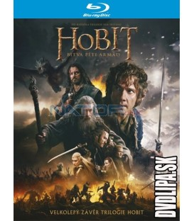 Hobit: Bitva pěti armád (The Hobbit: The Battle of the Five Armies) 2xBlu-ray