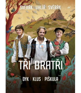 Traja bratia DVD