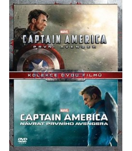 Captain America kolekce 1.-2. 2DVD (Captain America: The First Avenger + Captain America: The Winter Soldier) DVD