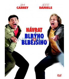 Návrat blbýho a blbějšího 2 ((Dumb and Dumber To) DVD