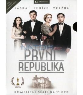 PRVNÍ REPUBLIKA - KOMPLETNÍ KOLEKCE 1-11 - DVD
