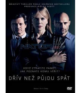 DŘÍV NEŽ PŮJDU SPÁT ( Before I Go to Sleep) DVD