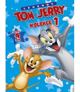 Tom a Jerry kolekce 1. 4DVD