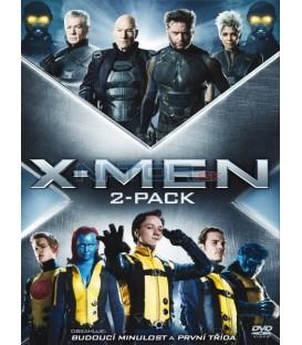 X-Men První třída + Budoucí minulost (X-Men First Class + Days of Future Past) 2XDVD
