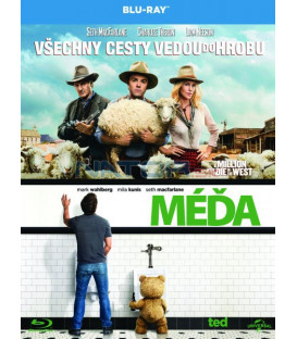 MÉĎA + VŠECHNY CESTY VEDOU DO HROBU (ed + A Million Ways to Die in the West) 2xBlu-ray