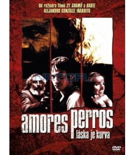 Amores perros - Láska je kurva DVD