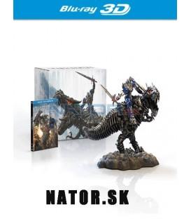 Transformers 4: Zánik (Transformers: Age of Extinction) sběratelské balení Dinobot (3Blu-ray 3D+2D+bonus BD) - steelbook
