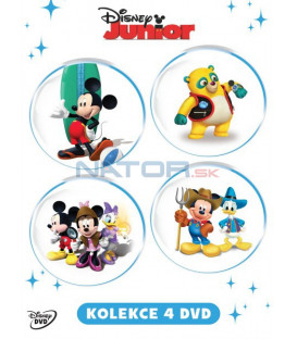 Disney Junior (Disney Junior) kolekce 4DVD