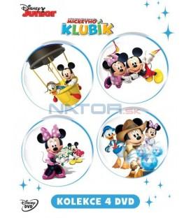 Mickeyho klubík kolekce (Mickey Mouse Clubhouse) 4DVD