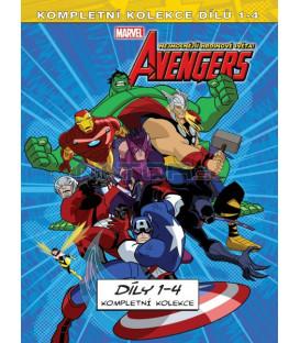 The Avengers Nejmocnější hrdinové světa kolekce (The Avengers)1.-4. 4DVD