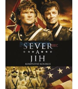 Sever a jih 1.-3. kniha- kolekce 8DVD