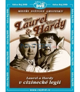Laurel a Hardy v cizinecké legii ( Flying Deuces, The) DVD
