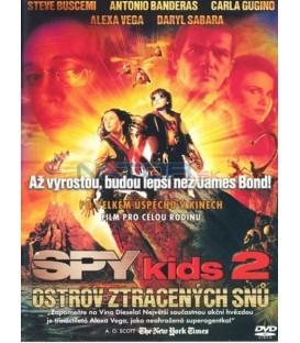 Spy Kids 2: Ostrov ztracených snů (Spy Kids 2: The Island of Lost Dreams) DVD