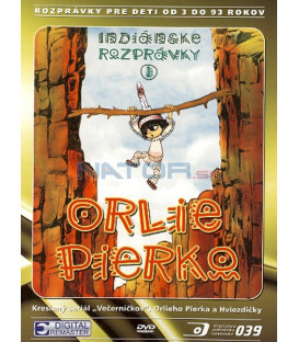 Orlie Pierko Indiánske animované rozprávky DVD