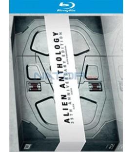 VETŘELEC: ALIEN ANTHOLOGY NOSTROMO 35. výročí (Limitovaná edice 6 BD) - Blu-ray