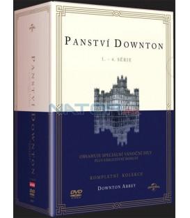 PANSTVÍ DOWNTON 1-4 KOLEKCE - DVD