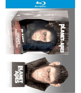 PLANETA OPIC: CÉZAROVA VÁLEČNÁ KOLEKCE (s hlavou Cézara) - Blu-ray