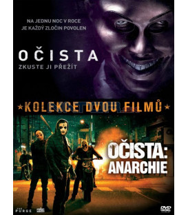 OČISTA + OČISTA: ANARCHIE (The Purge + The Purge: Anarchy)- 2 DVD