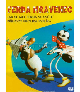 FERDA MRAVENEC  Jak se měl Ferda ve světě a Příhody brouka Pytlíka DVD
