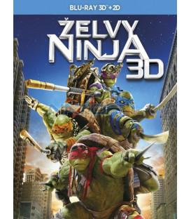 Želvy Ninja 2014 (Teenage Mutant Ninja Turtles) - 2BD (3D+2D) Blu-ray