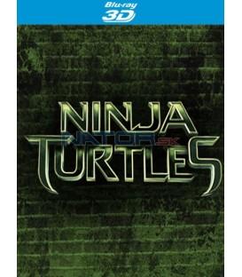 Želvy Ninja 2014 (Teenage Mutant Ninja Turtles) 2BD (3D+2D) Blu-ray steelbook Sběratelské balení