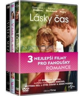 Kolekce Romantické filmy (Lásky čas, V zemi Jane Austenové, Vášeň mezi řádky) DVD