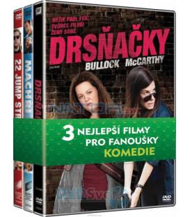 Kolekce Komedie (Drsňačky, Machři 2, Jump street) DVD