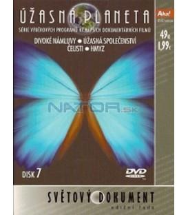 Úžasná planeta 7 DVD
