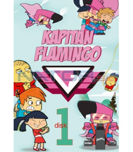 Kapitán Flamingo 01 DVD