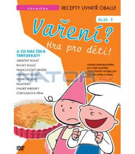 Vaření? Hra pro děti 03 DVD