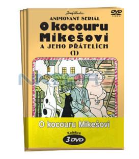 O kocouru Mikešovi  -  kolekce  3 DVD