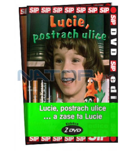 Lucie, postrach ulice… a zase ta Lucie  -  kolekce  2 DVD