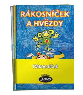 Rákosníček - kolekce  3 DVD - Rákosníček a hvězdy, Rákosníček a jeho rybník, Rákosníček a povětří