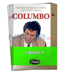 Columbo 4  -  kolekce  7 DVD