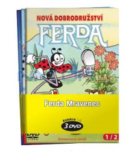 Ferda Mravenec  -  kolekce  3 DVD (Ferda Mravenec ½, Ferda Mravenec ¾, Ferda Mravenec 5/6)