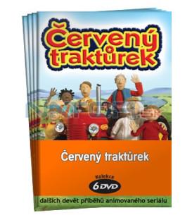 Červený traktůrek  -  kolekce  6 DVD