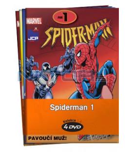 Spiderman 1  -  kolekce  4 DVD