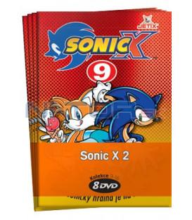Sonic X 2  -  kolekce  8 DVD