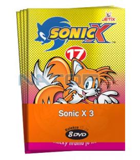 Sonic X 3  -  kolekce  8 DVD