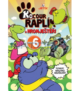 Kocour Raplík a hromještěři 06 DVD