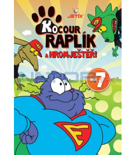 Kocour Raplík a hromještěři 07 DVD