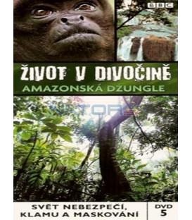 Život v divočině 5 - Amazonská džungle (Wild South America: Amazon Jungle) DVD