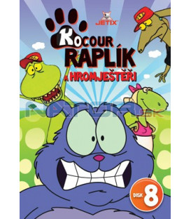 Kocour Raplík a hromještěři 08 DVD