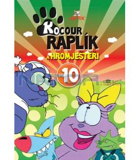 Kocour Raplík a hromještěři 10 DVD