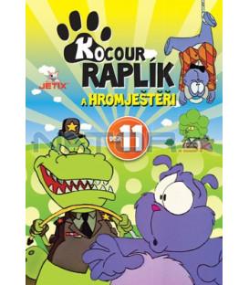 Kocour Raplík a hromještěři 11 DVD